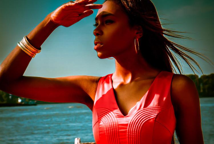 Fashion Editorial Photography Model Portfolio Sedcard