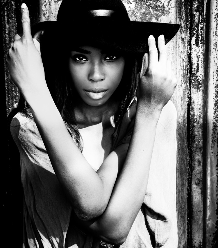 Fashion Editorial Black and White Photography Model Portfolio Shooting